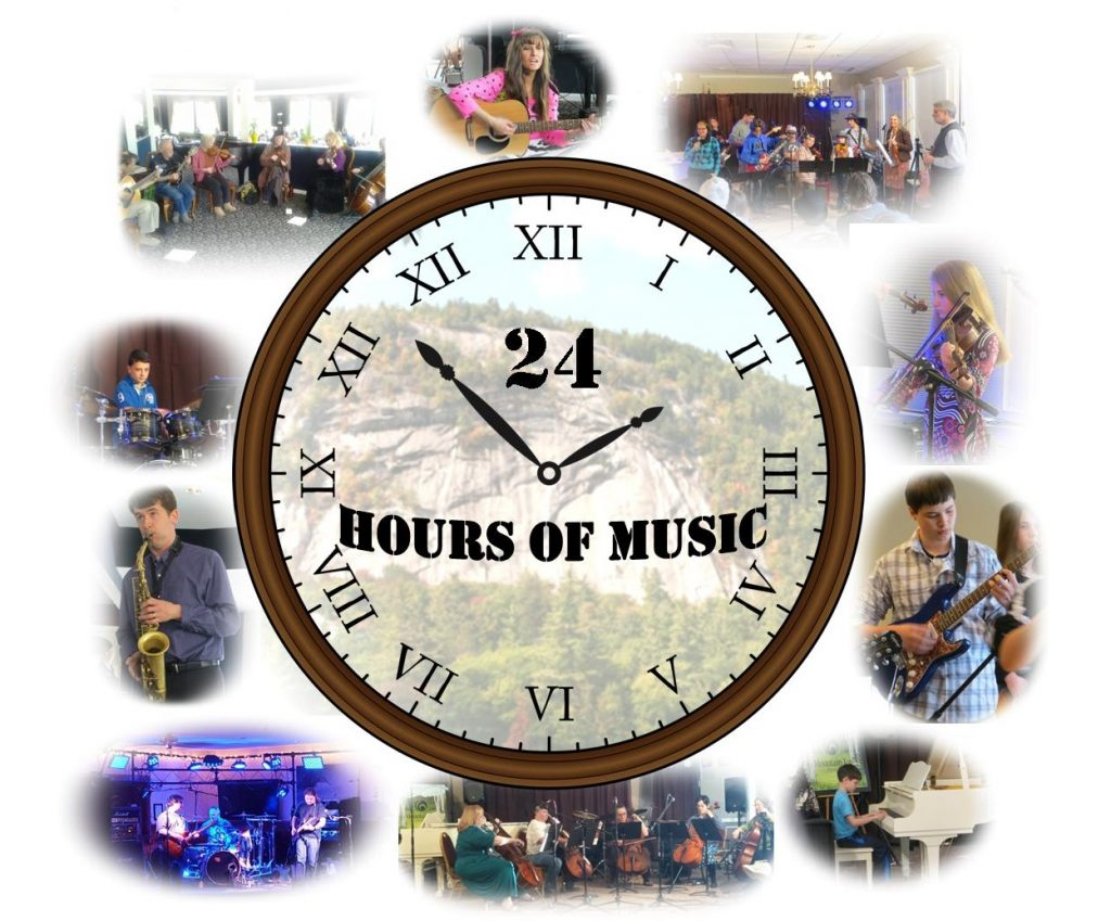 24 hours clock image